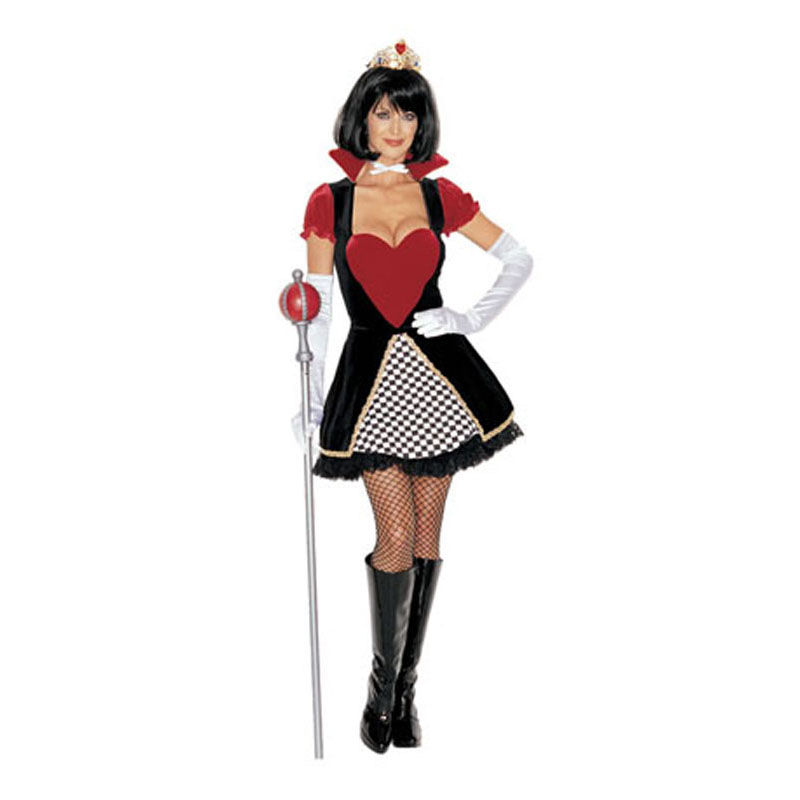 LV8023-Royal Queen of Hearts Costume