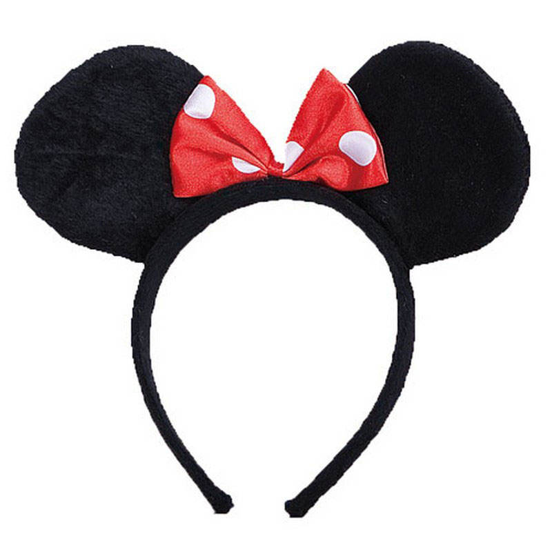LH3147 Mouse Ears Headband Mouse Girl for Kids
