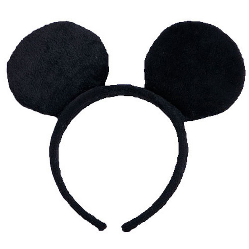 LH3148Mouse Ears Headband Classic Mouse for Kids