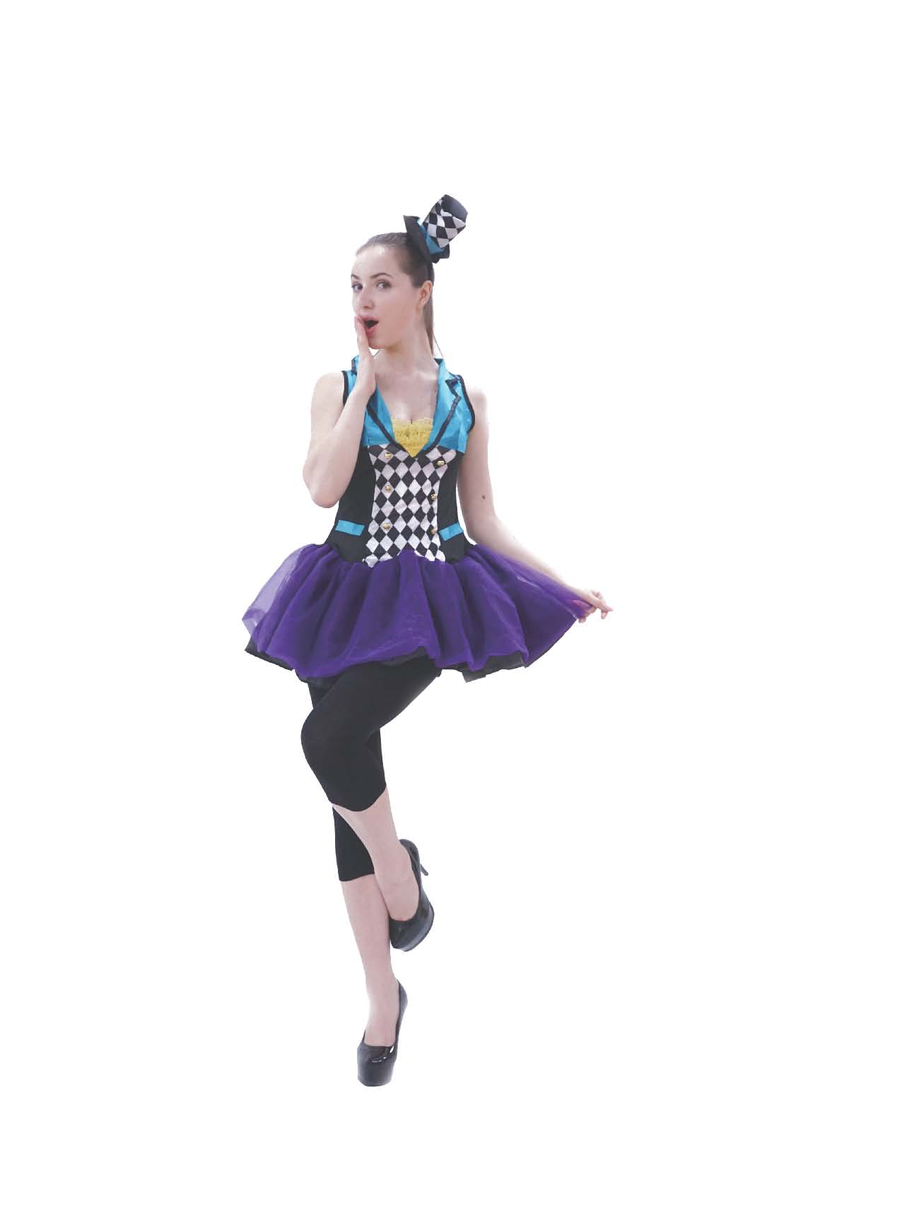 LC4009 Jester Adult Woman Costume