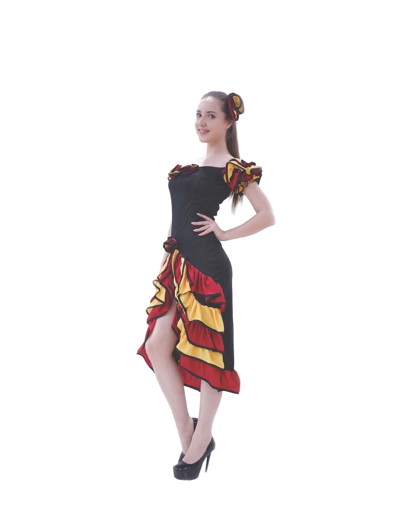 LC4012 Spanish Lady  Adult Costume