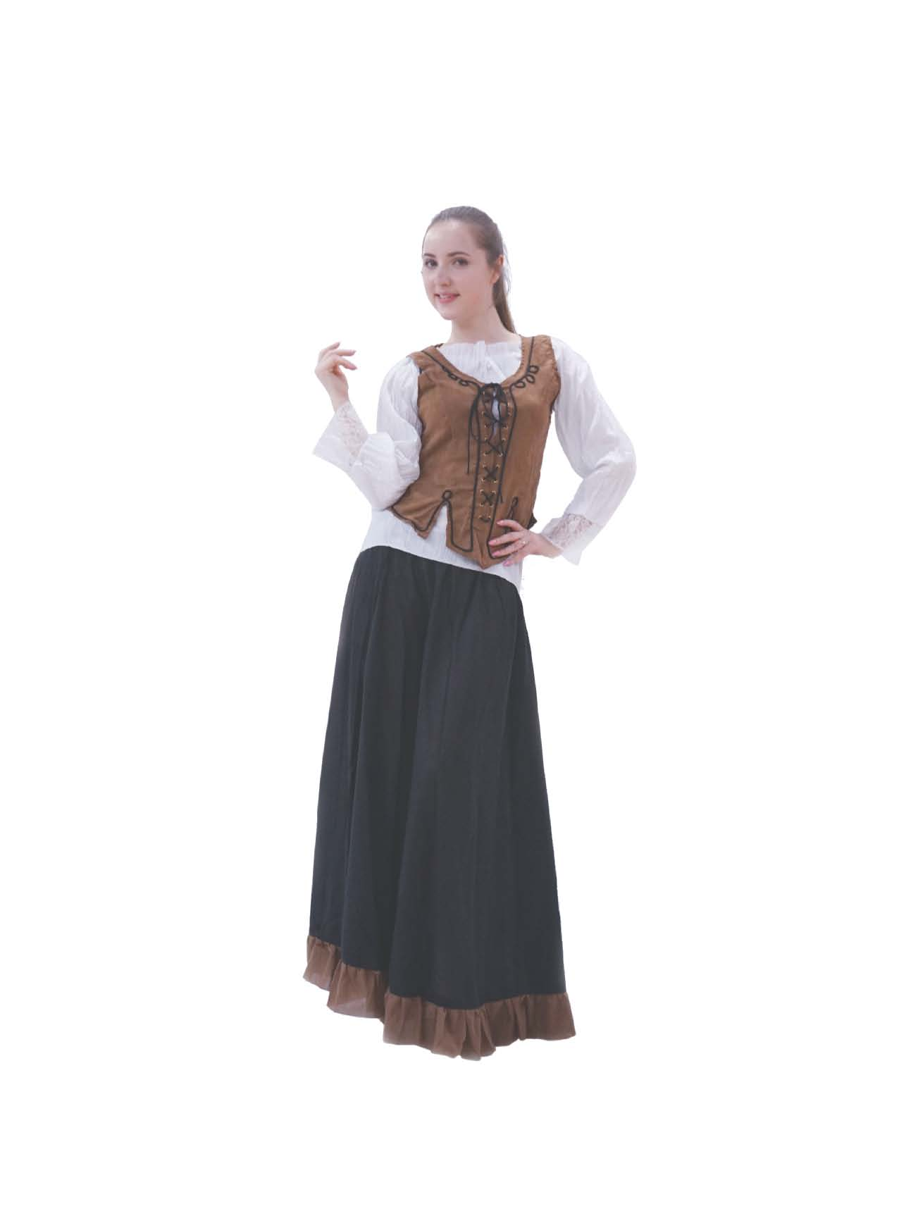 LC4013 Wench Brown Costume