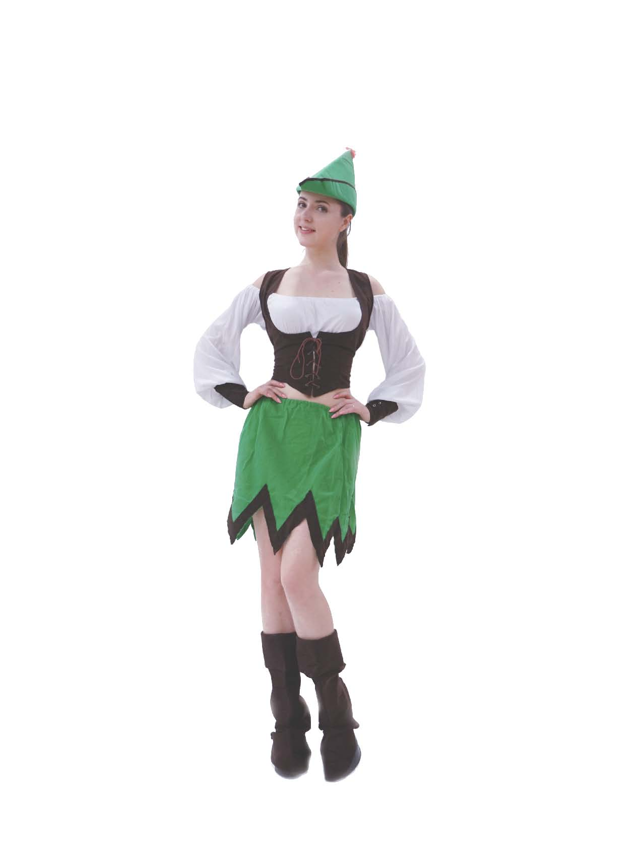 LC4020 Ladies Robin Hood Costume